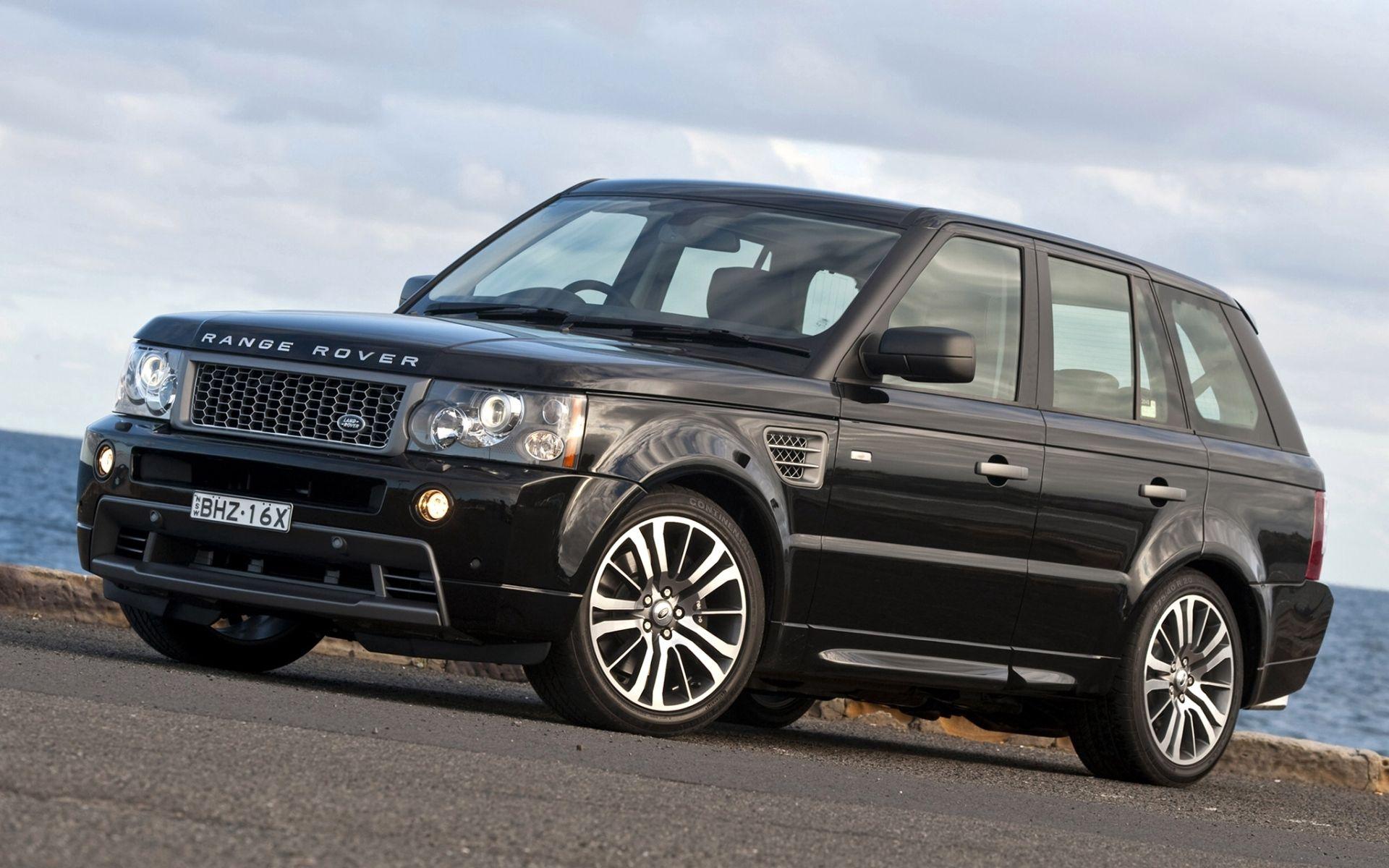 119102 скачать обои Спорт, Небо, Рендж Ровер (Range Rover), Ленд Ровер (Land Rover), Тачки (Cars), Джип, Чёрный, Передок, Ленд Ровер, Stormer, Ренж Ровер - заставки и картинки бесплатно