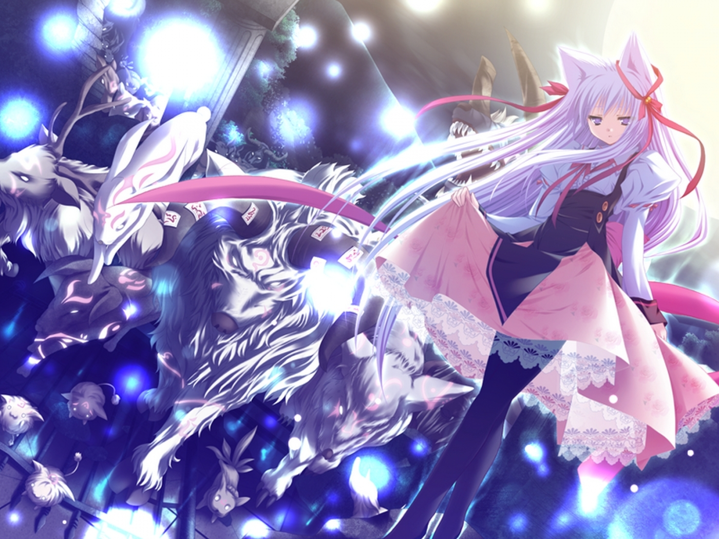 38813 download wallpaper Anime, Girls screensavers and pictures for free