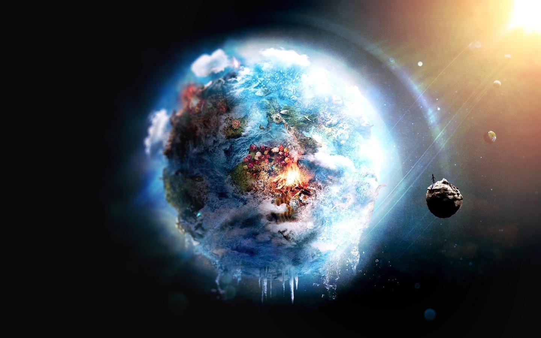 18126 скачать обои Пейзаж, Планеты, Космос - заставки и картинки бесплатно