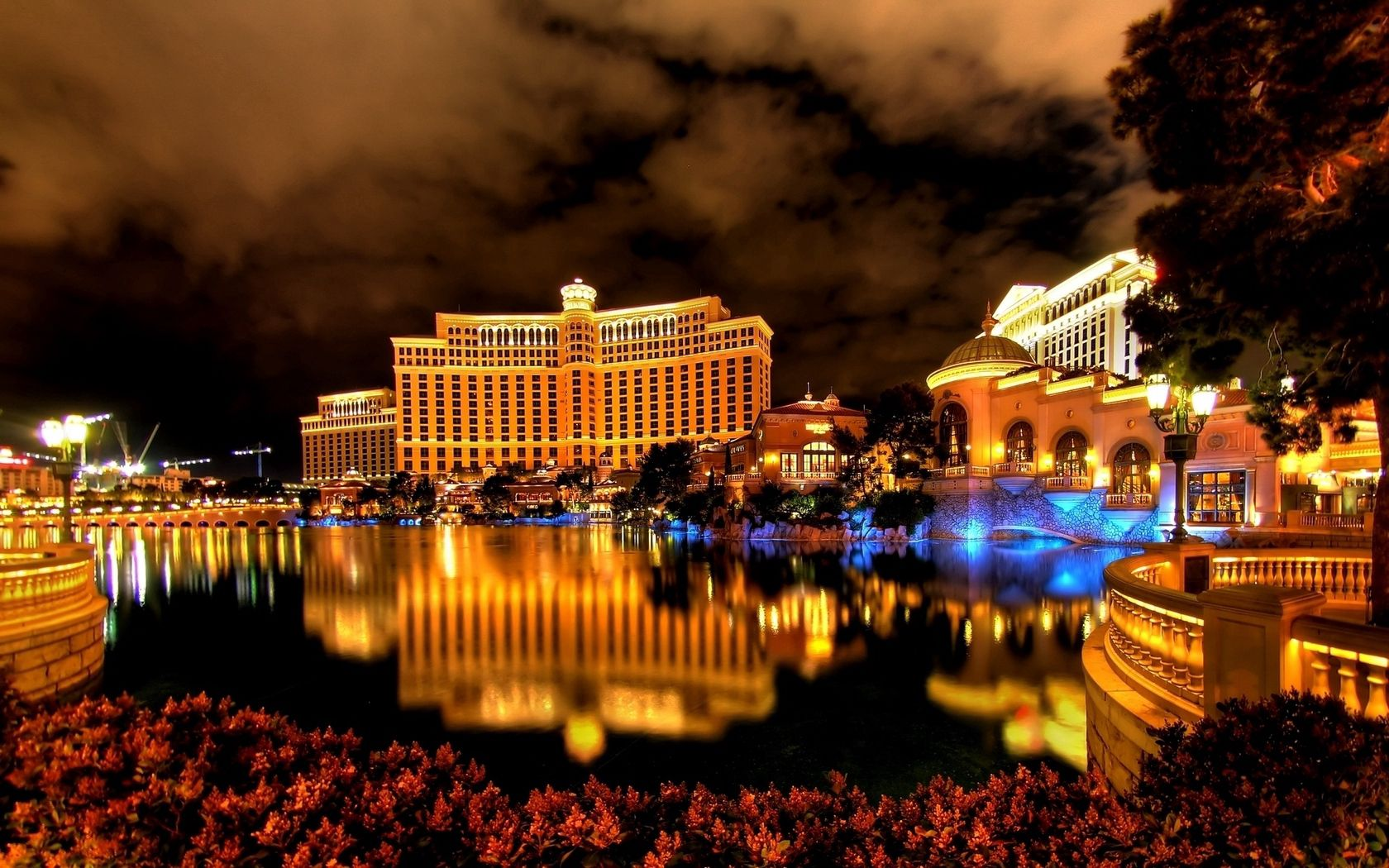 124998 Screensavers and Wallpapers Fountain for phone. Download Cities, Night, Fountain, Las Vegas, Building, Reflection, Hotel pictures for free