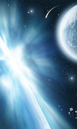12714 скачать обои Пейзаж, Планеты, Космос, Солнце - заставки и картинки бесплатно
