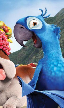 44544 скачать обои Кино, Животные, Рисунки, Рио (Rio) - заставки и картинки бесплатно