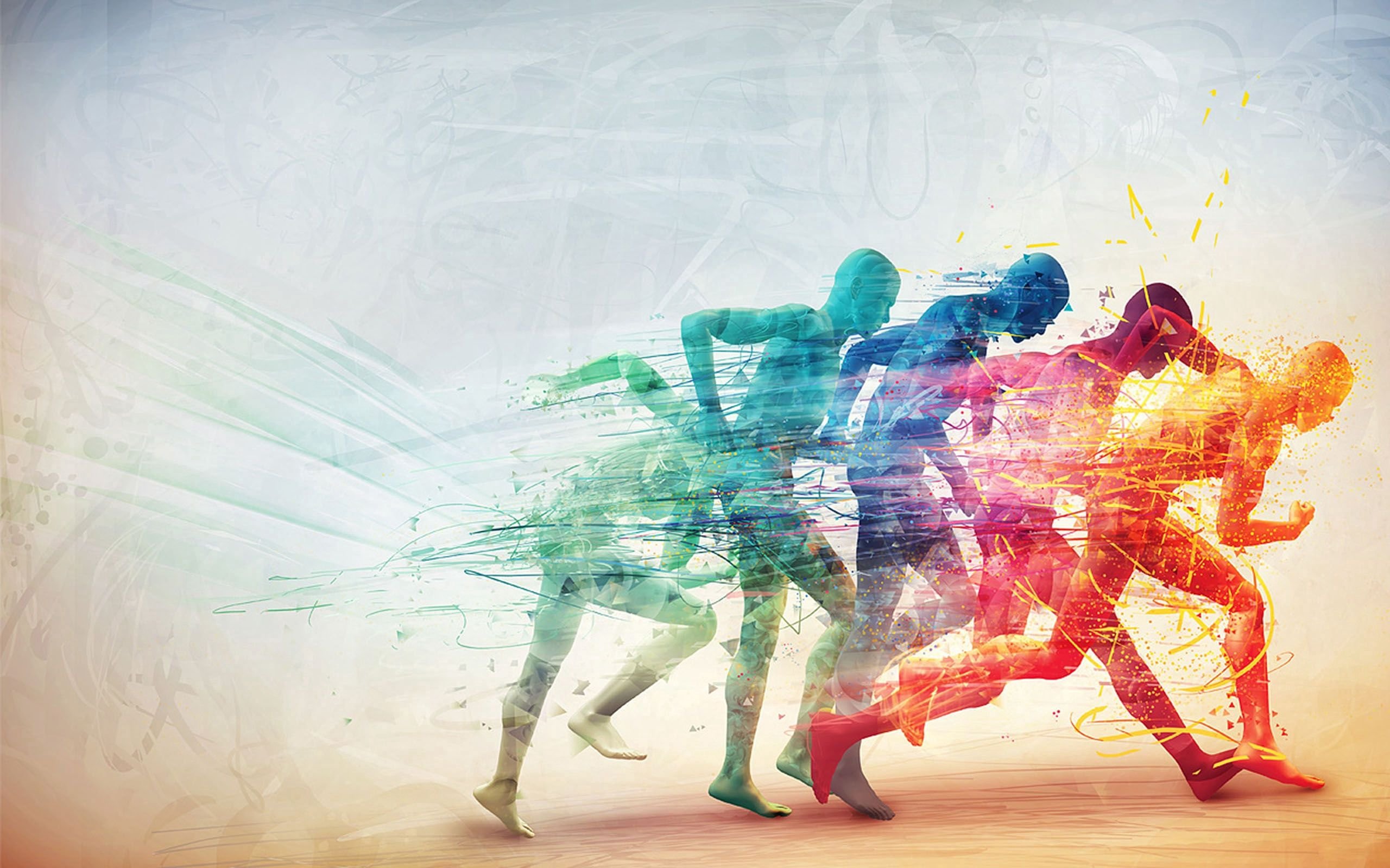 118517 download wallpaper Vector, Speed, Human, Person, Run, Running screensavers and pictures for free