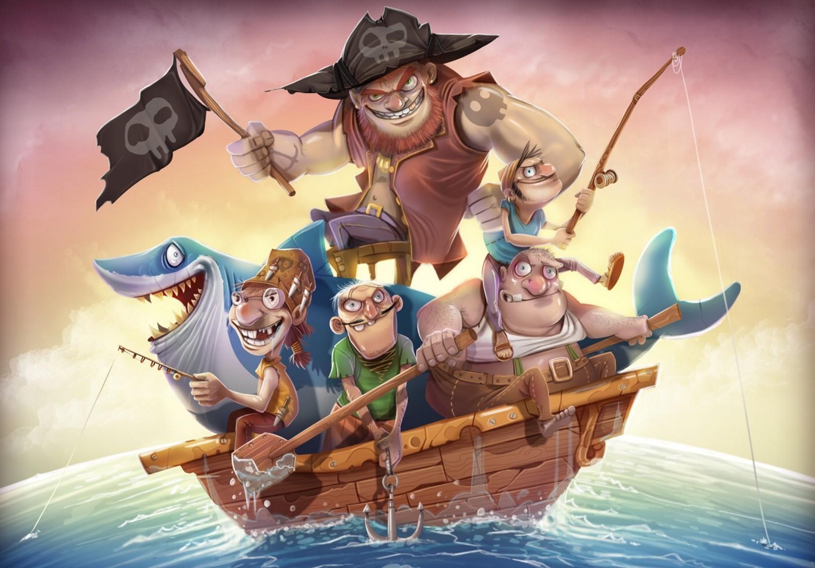 Beliebte Piraten Bilder für Mobiltelefone
