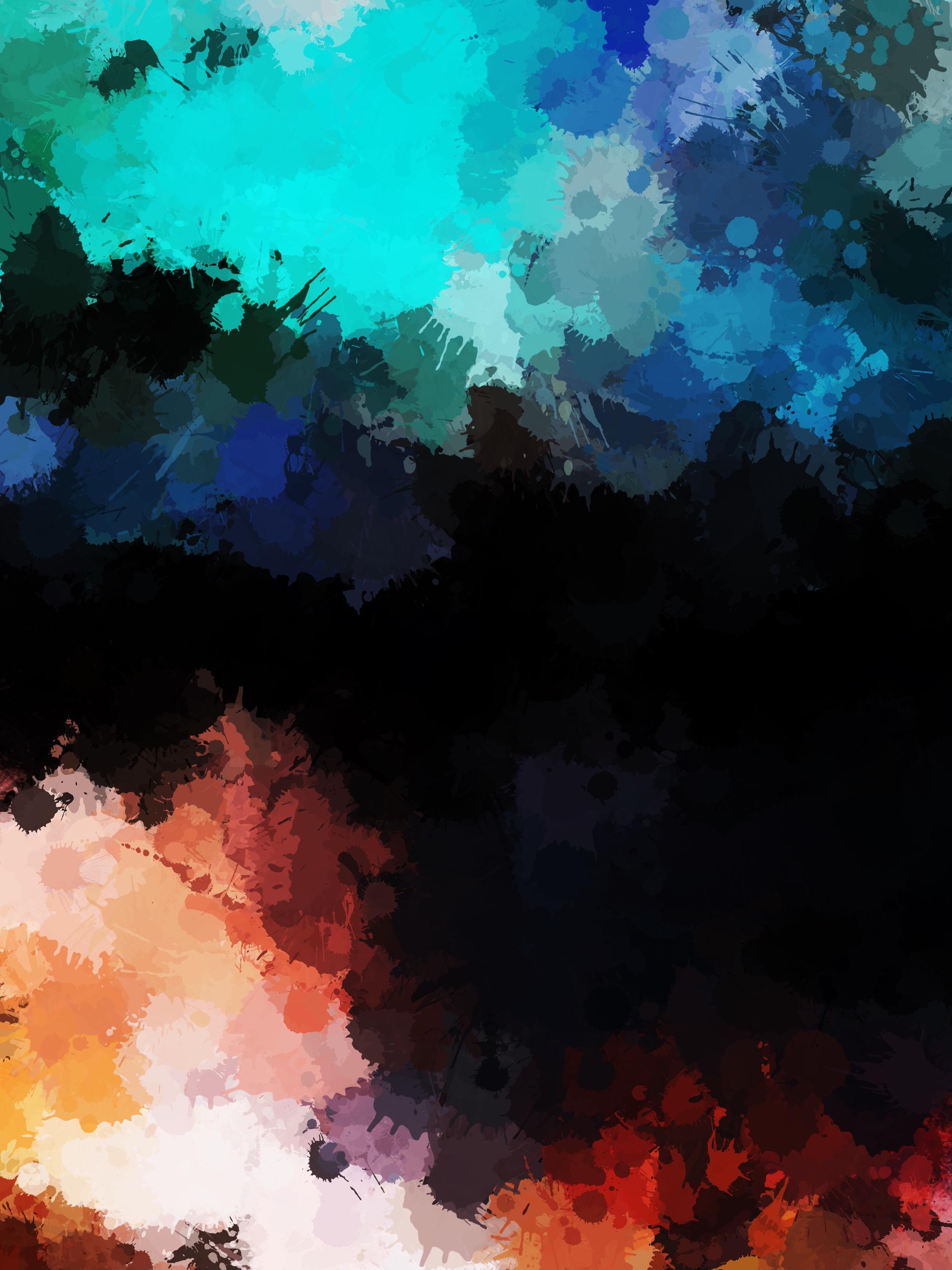 58403 fond d'écran 720x1560 sur votre téléphone gratuitement, téléchargez des images Abstrait, Sombre, Taches, De L'art, Artistique 720x1560 sur votre mobile