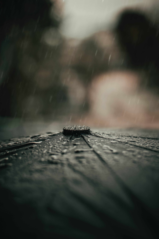 107904 скачать обои Макро, Зонтик, Дождь, Капли - заставки и картинки бесплатно