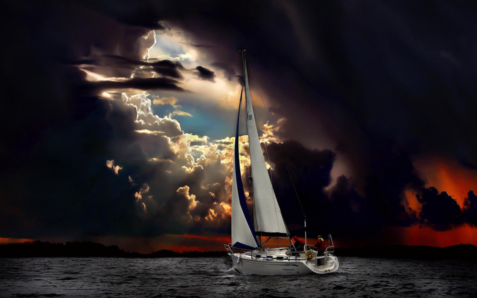 32897 Hintergrundbild herunterladen Transport, Sea, Yachts - Bildschirmschoner und Bilder kostenlos