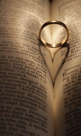 137446 Заставки и Обои Свадьба на телефон. Скачать Любовь, Кольцо, Свадьба, Книга картинки бесплатно
