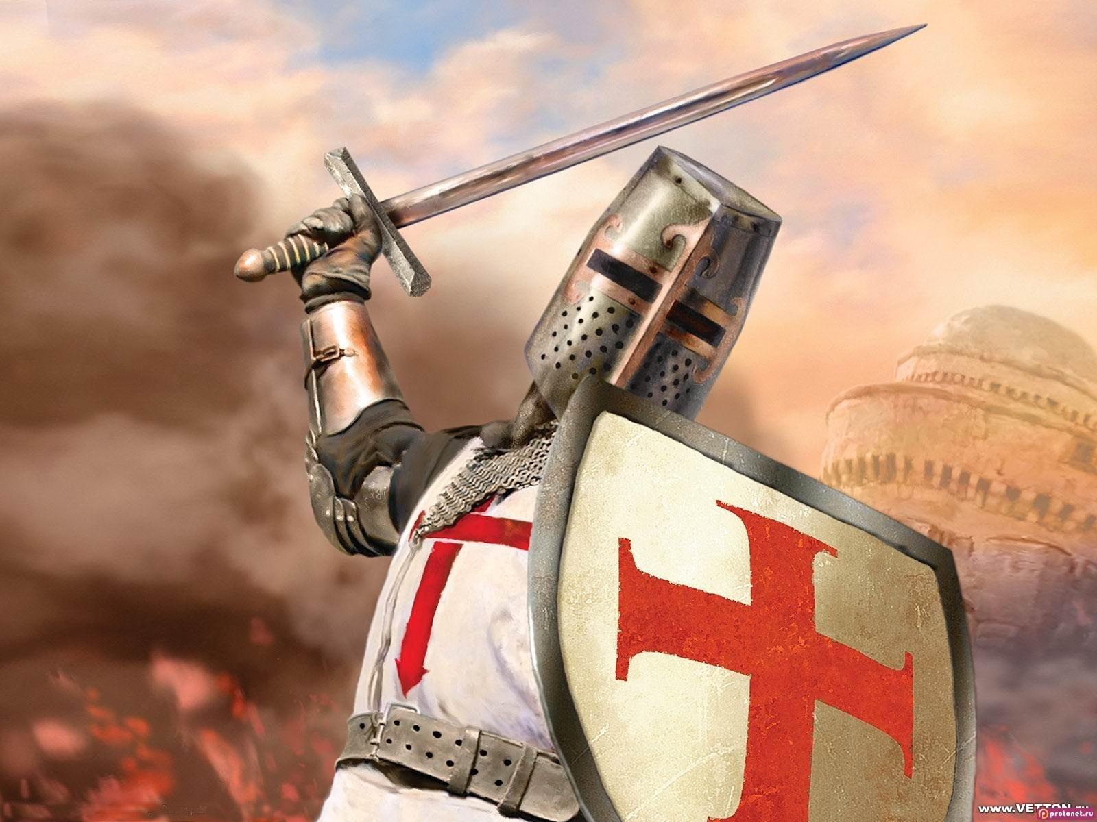 16367 baixar papel de parede Guerra, Pessoas, Arte, Templiers - protetores de tela e imagens gratuitamente