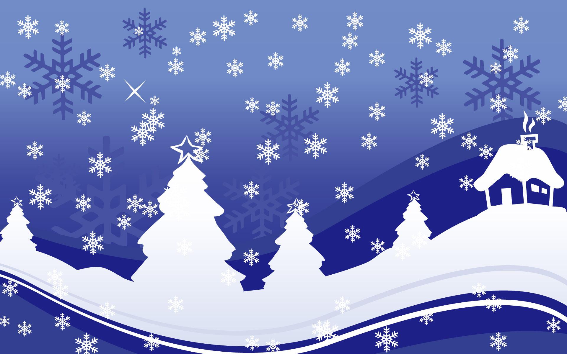 14100 скачать обои Зима, Фон, Новый Год (New Year), Елки, Рождество (Christmas, Xmas), Рисунки - заставки и картинки бесплатно
