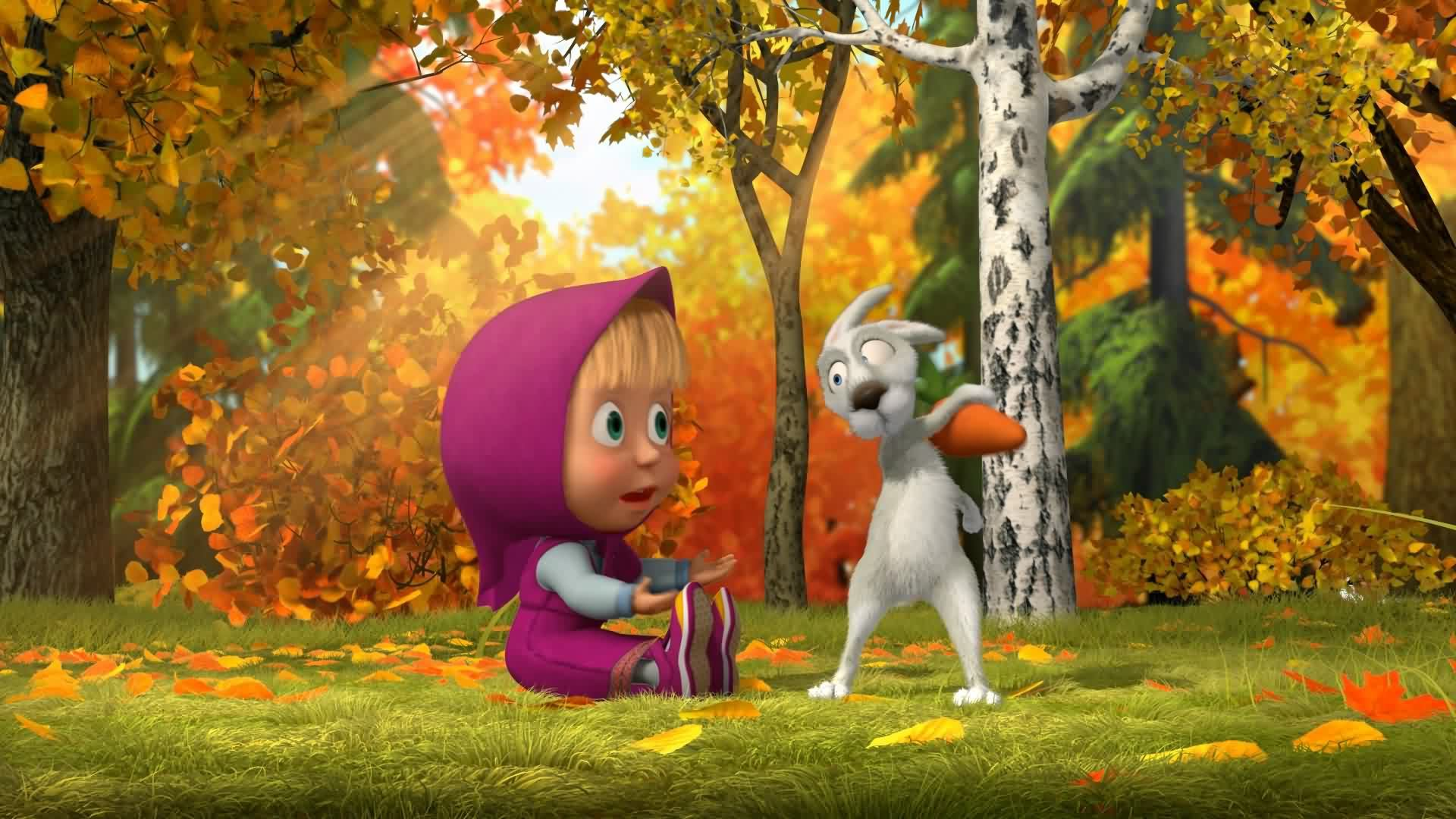 14170 Screensavers and Wallpapers Masha And The Bear for phone. Download Masha And The Bear, Cartoon pictures for free