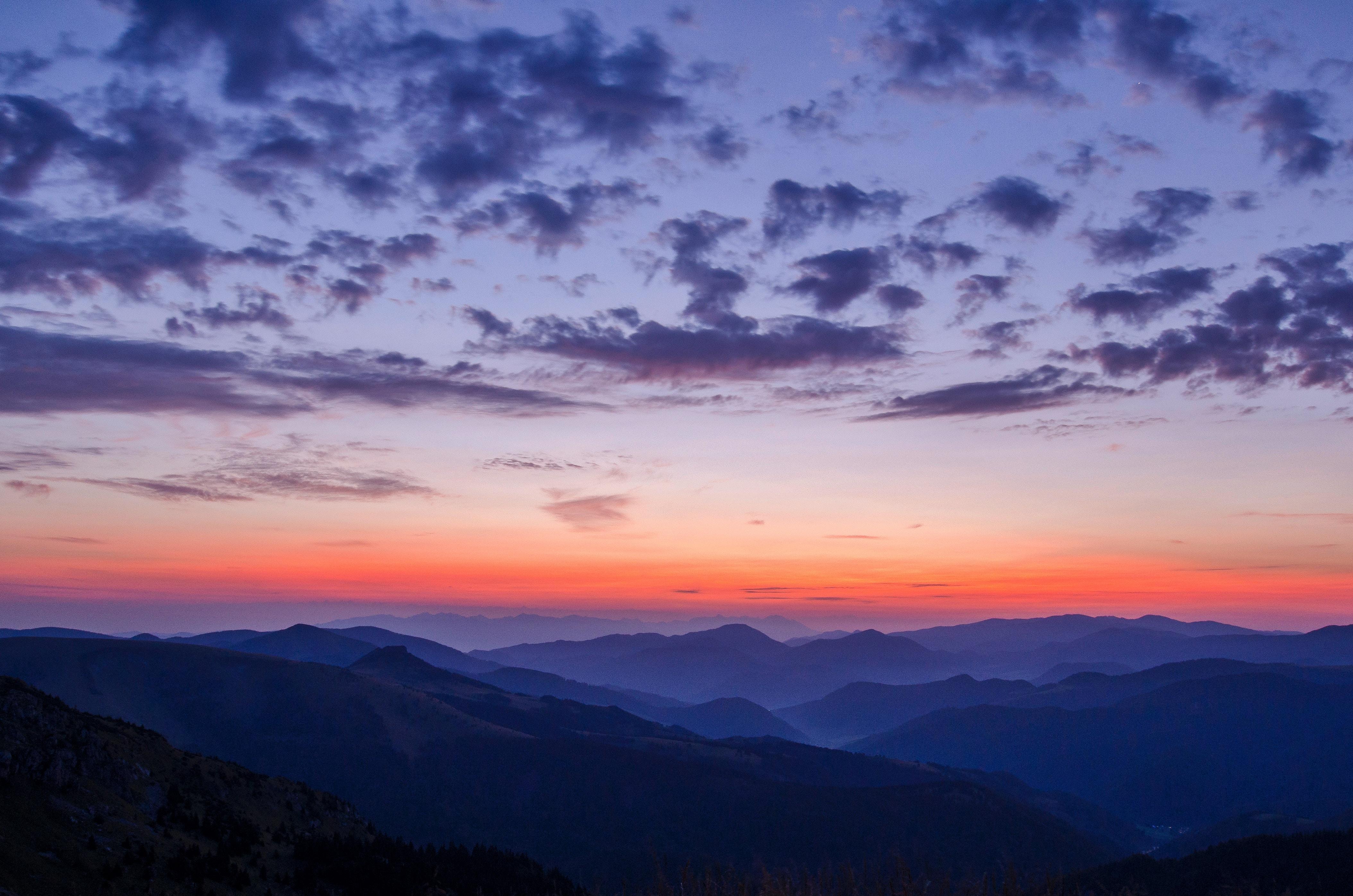125094 descargar fondo de pantalla Naturaleza, Cielo, Horizonte, Nubes, Montañas: protectores de pantalla e imágenes gratis
