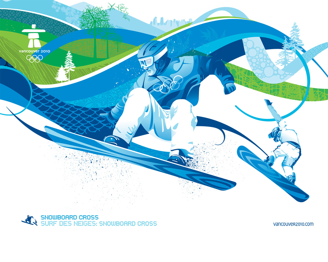 4256 download wallpaper Sports, Winter, Olympics, Pictures, Snowboarding screensavers and pictures for free