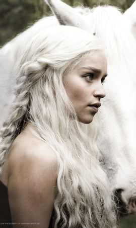 23205 download wallpaper Cinema, Animals, People, Girls, Actors, Horses, Game Of Thrones screensavers and pictures for free