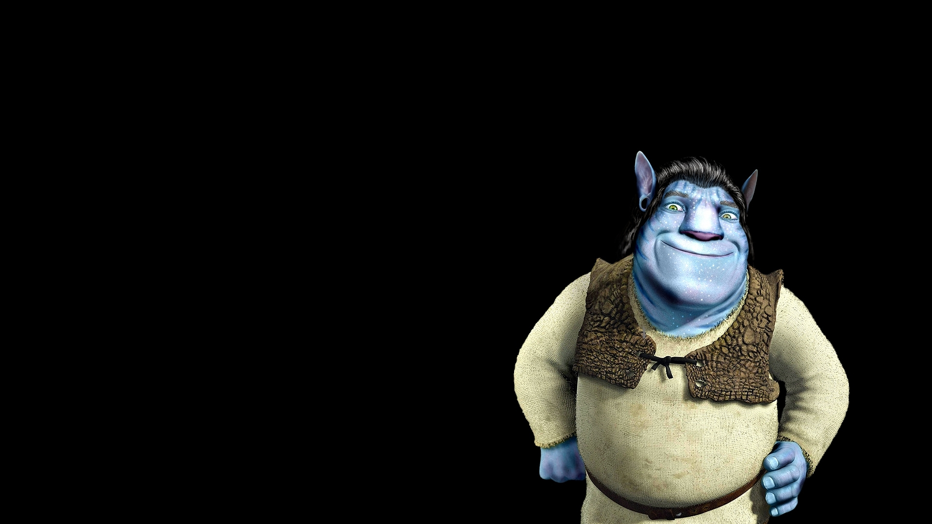 23479 download wallpaper Funny, Shrek, Avatar screensavers and pictures for free