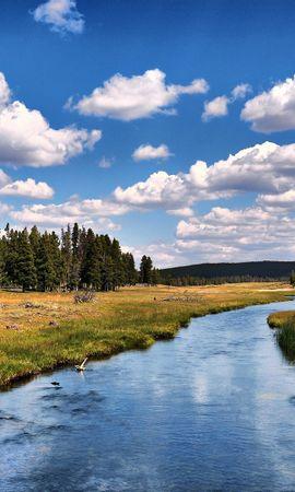 35826 скачать обои Пейзаж, Река, Деревья - заставки и картинки бесплатно