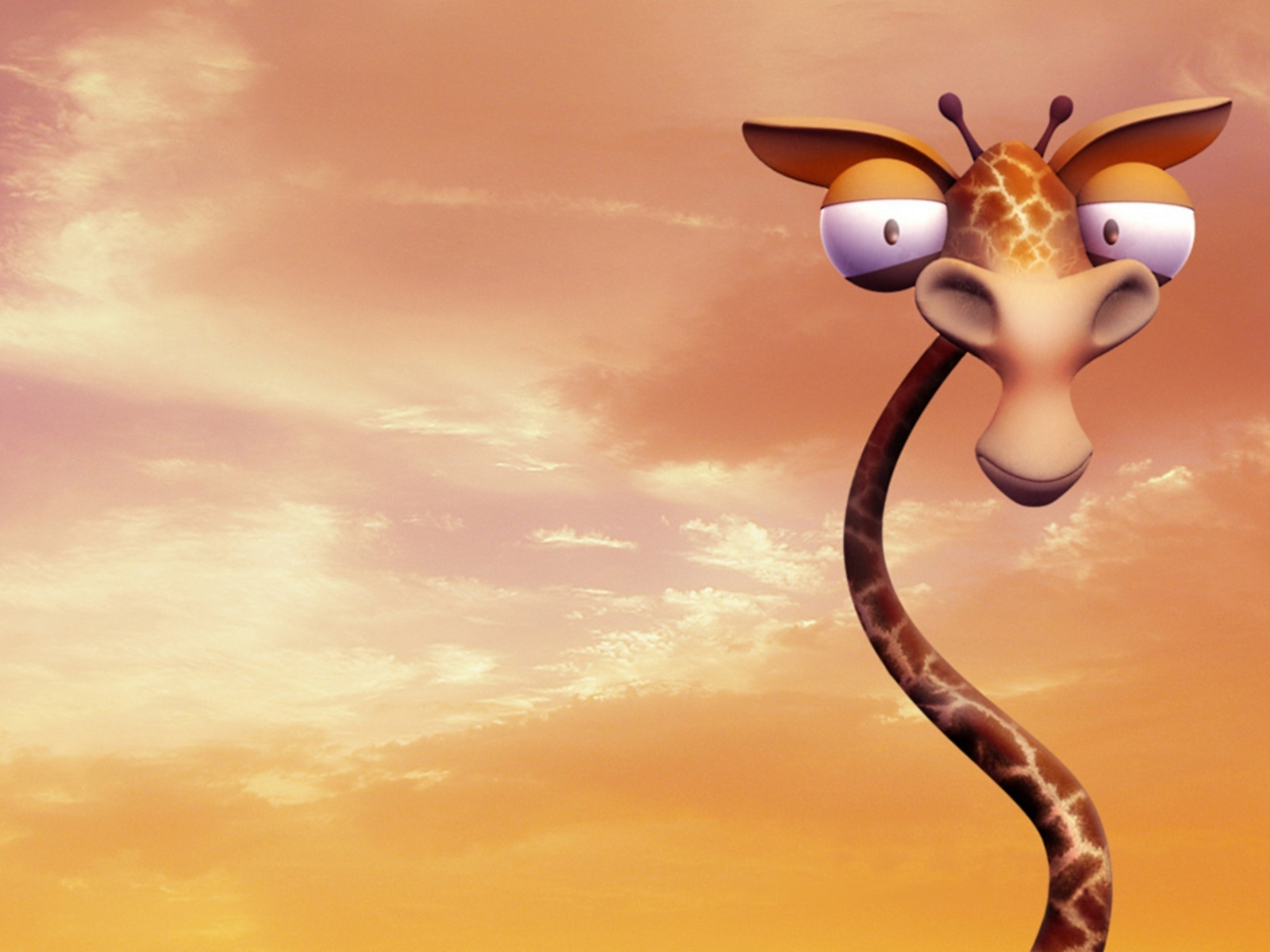 13040 download wallpaper Funny, Giraffes screensavers and pictures for free