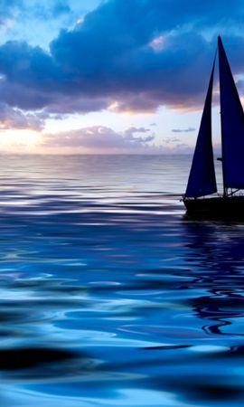 30245 скачать обои Пейзаж, Закат, Море, Яхты - заставки и картинки бесплатно