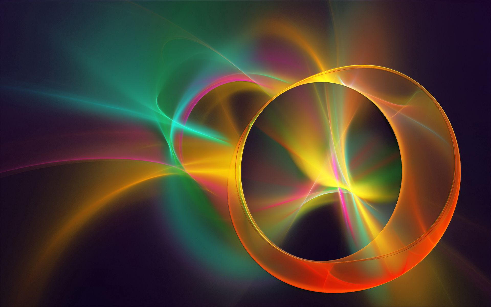 64125 download wallpaper Abstract, Shine, Light, Color, Line, Smoke screensavers and pictures for free