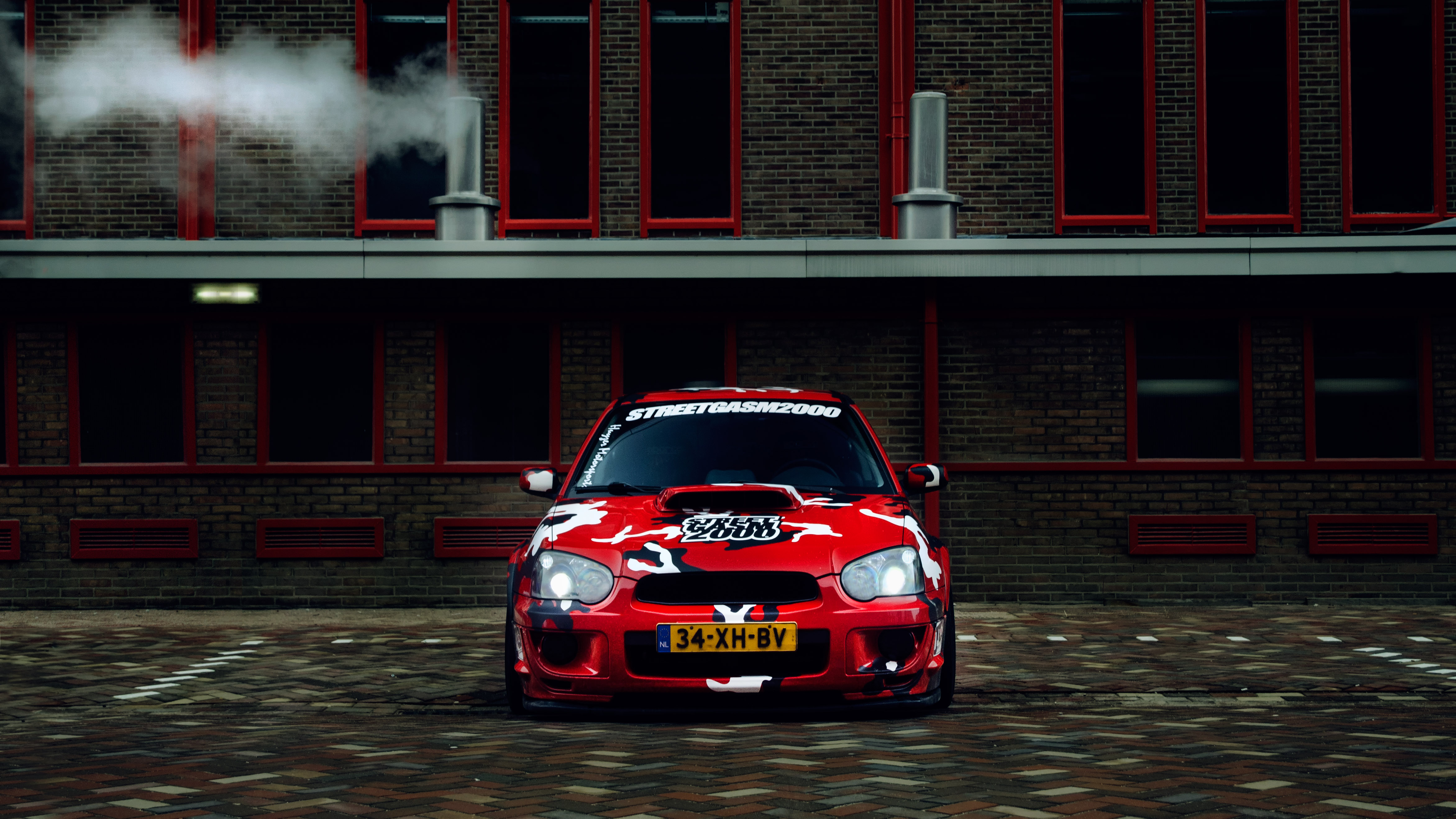 67636 Screensavers and Wallpapers Subaru for phone. Download Sports, Subaru, Cars, Front View, Sports Car, Camouflage, Subaru Impreza Sti Wrx pictures for free