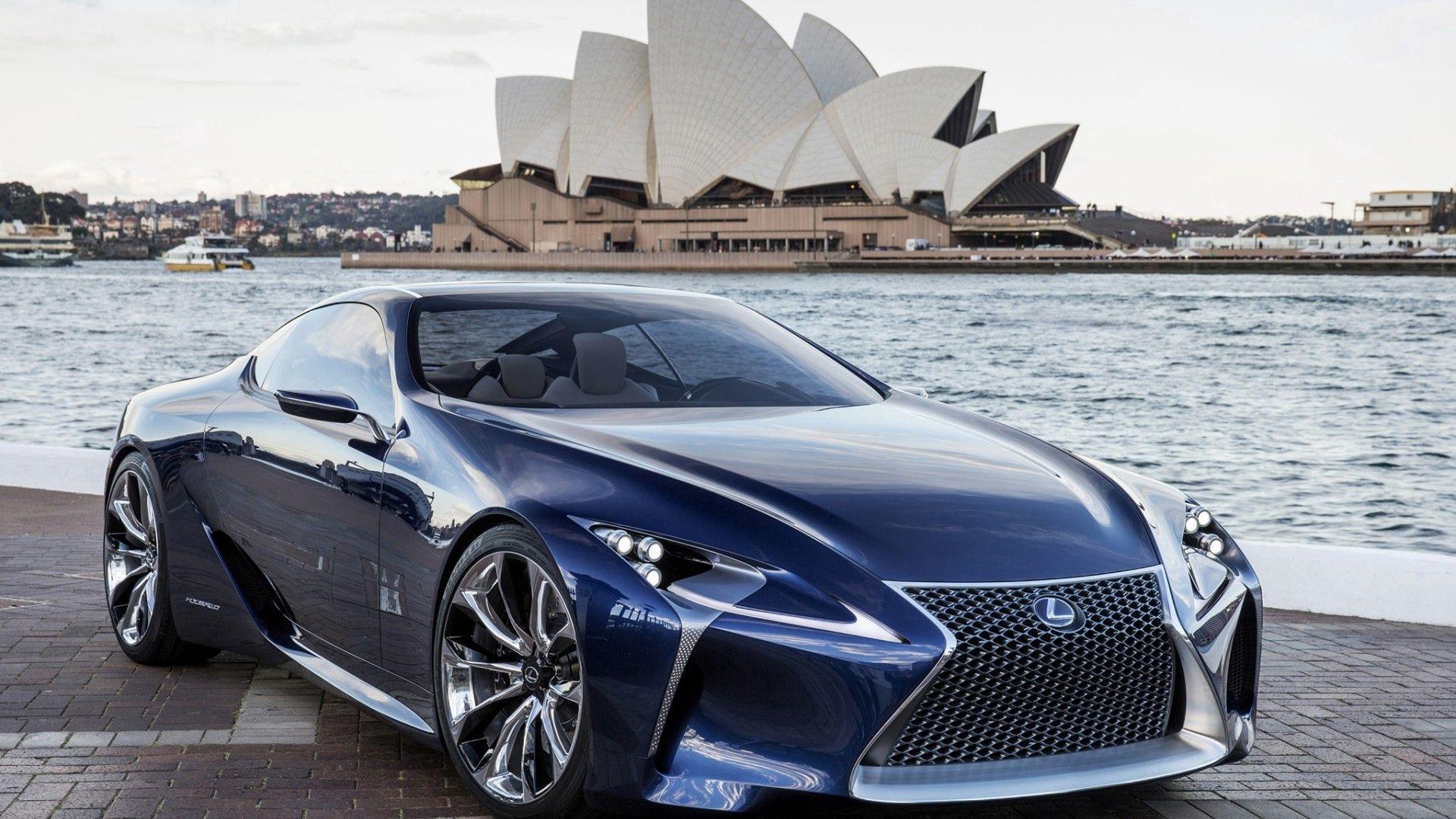 127695 Hintergrundbild herunterladen Lexus, Sydney, Cars, Lf-Lc, Oper, Opera - Bildschirmschoner und Bilder kostenlos