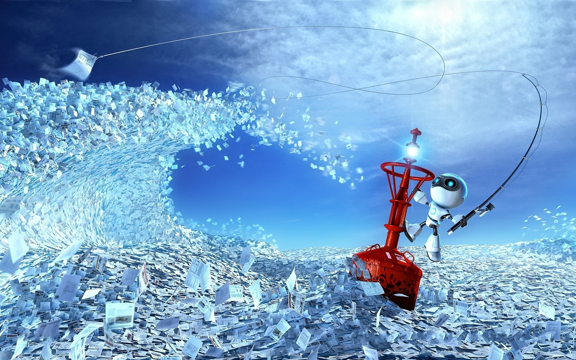 25756 Screensavers and Wallpapers Robots for phone. Download Fantasy, Robots pictures for free