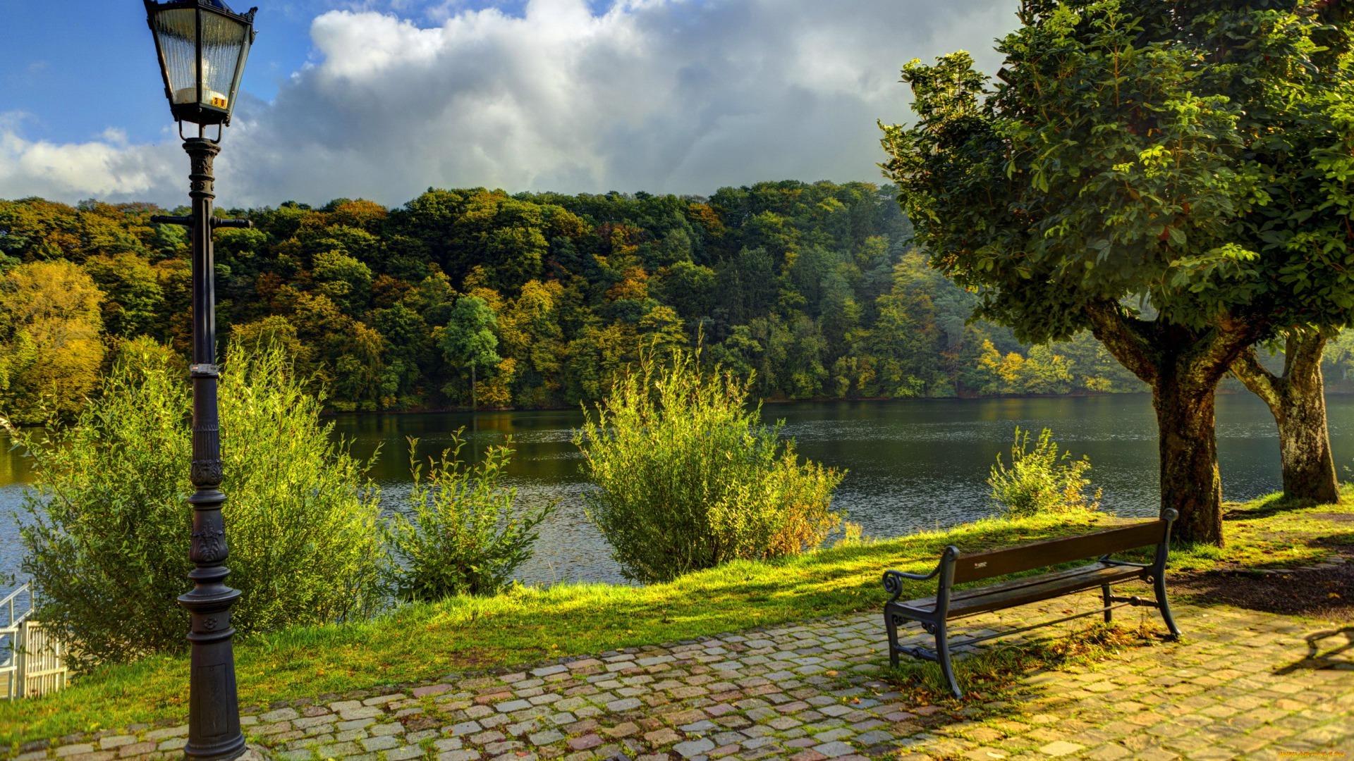 23474 скачать обои Пейзаж, Река, Деревья - заставки и картинки бесплатно