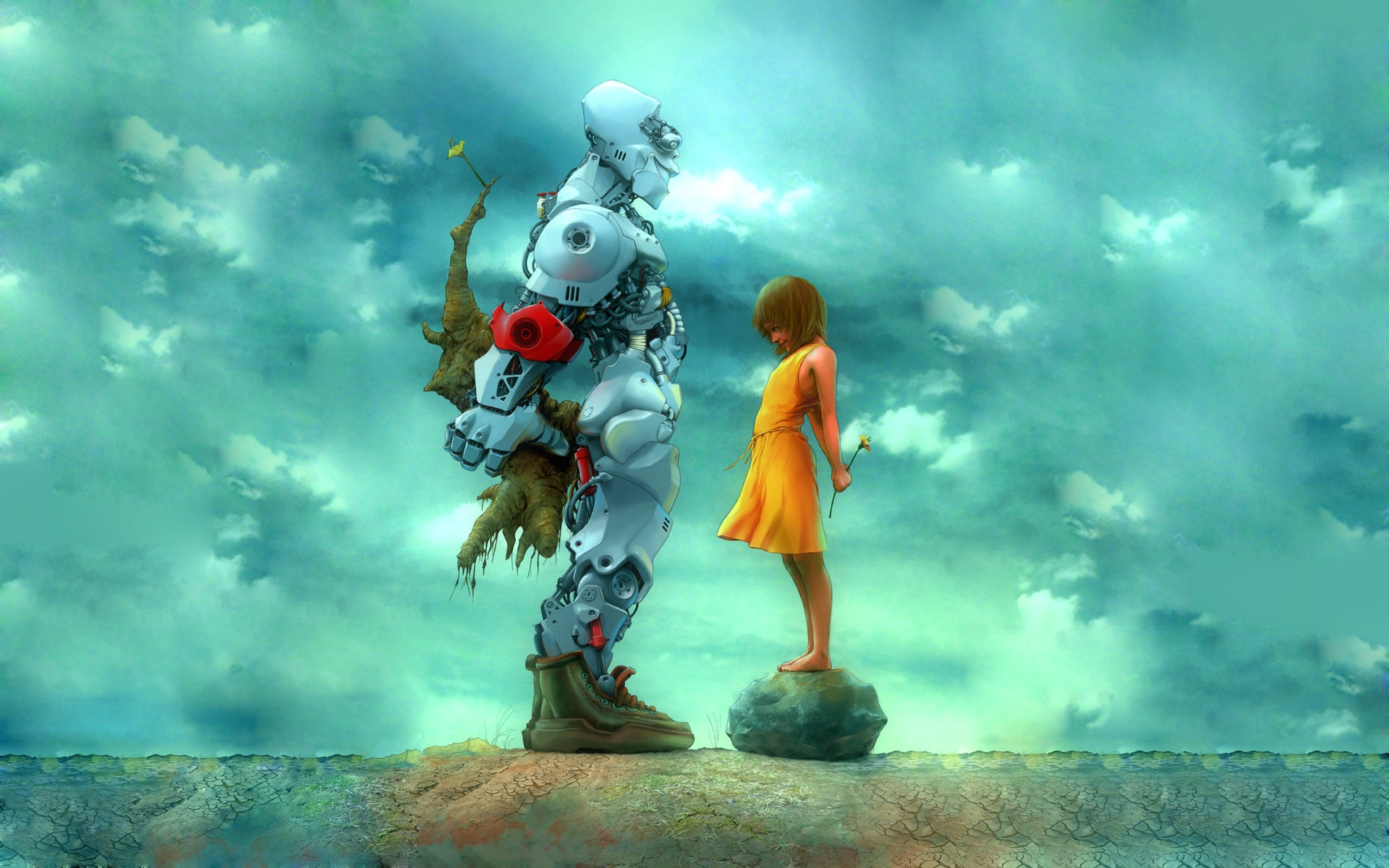 35303 Screensavers and Wallpapers Robots for phone. Download Children, Robots, Pictures pictures for free