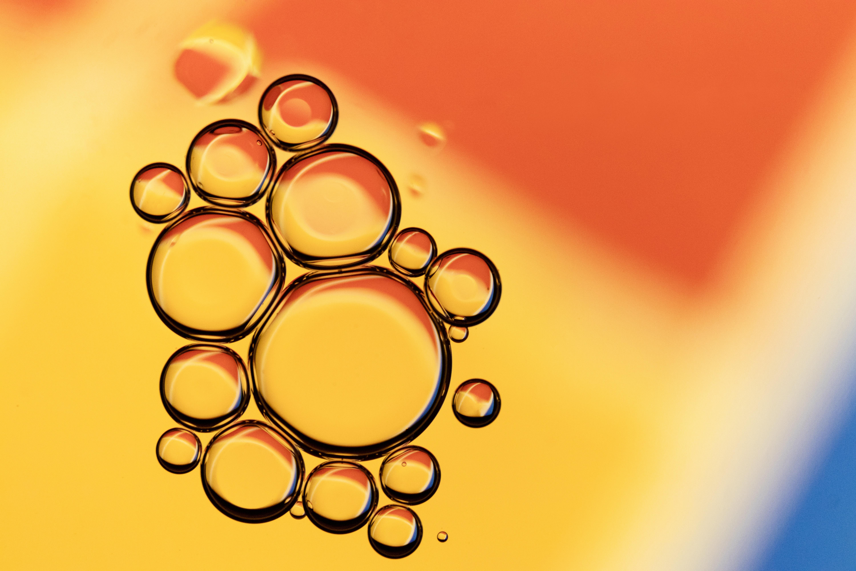 86013 免費下載壁紙 宏, 液体, 牛油, 油, 黄色的, 红色的, 泡沫 屏保和圖片