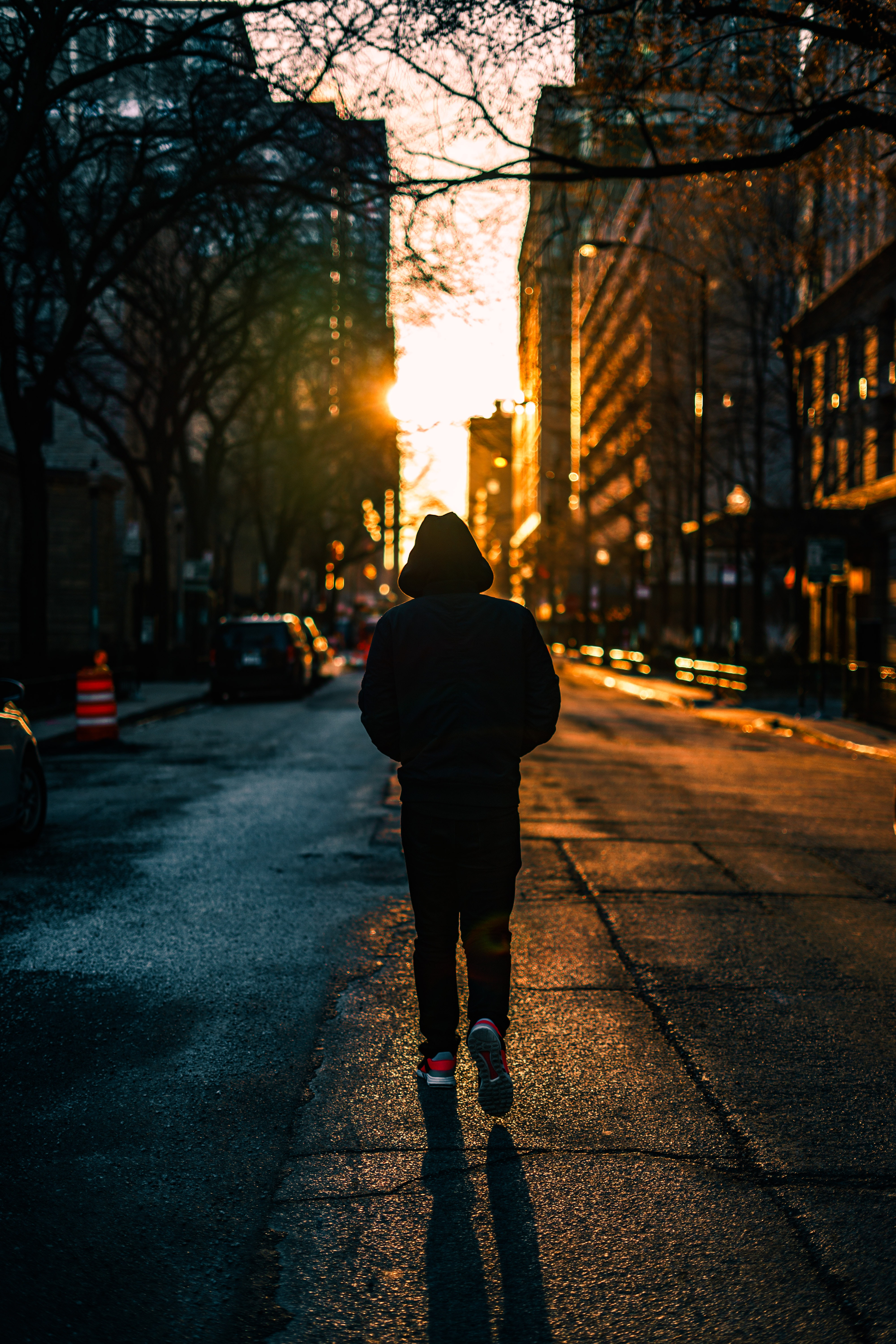 99946 Screensavers and Wallpapers Human for phone. Download City, Dark, Human, Person, Loneliness, Hood pictures for free