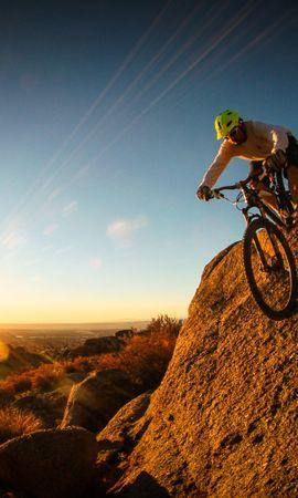 123690 descargar fondo de pantalla Deportes, Bicicleta De Montaña, Btt, Ciclista, Hombre: protectores de pantalla e imágenes gratis