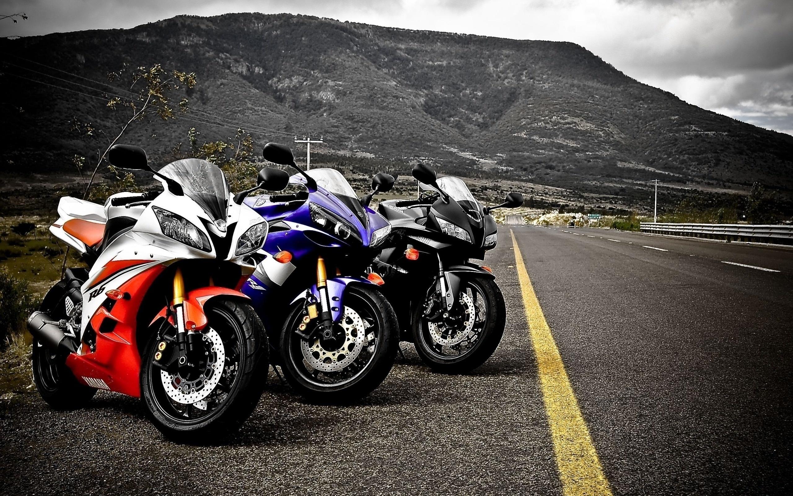 48912 скачать обои Транспорт, Мотоциклы, Пейзаж, Дороги, Горы - заставки и картинки бесплатно