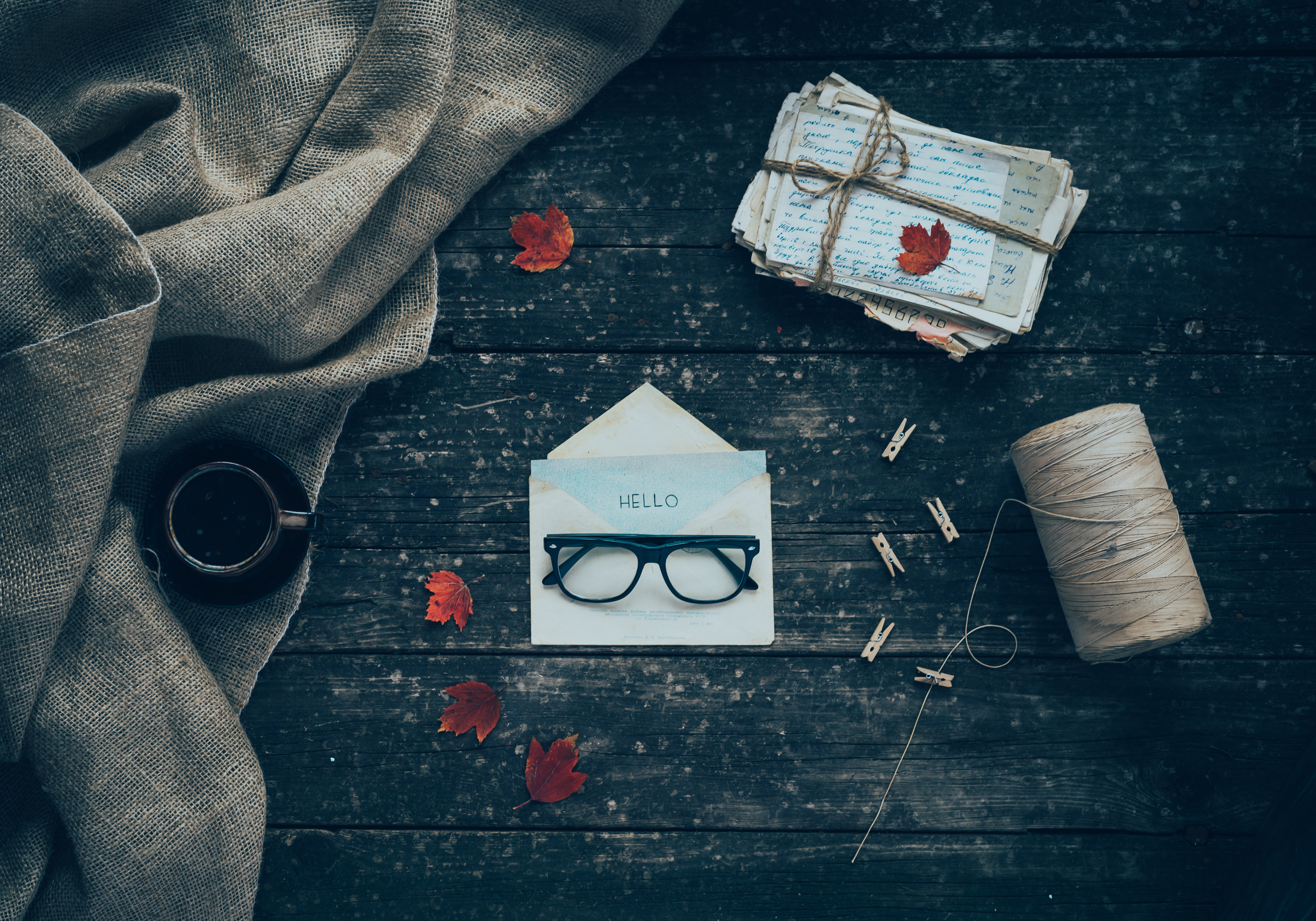 141017 download wallpaper Miscellanea, Miscellaneous, Envelope, Letters, Glasses, Spectacles screensavers and pictures for free