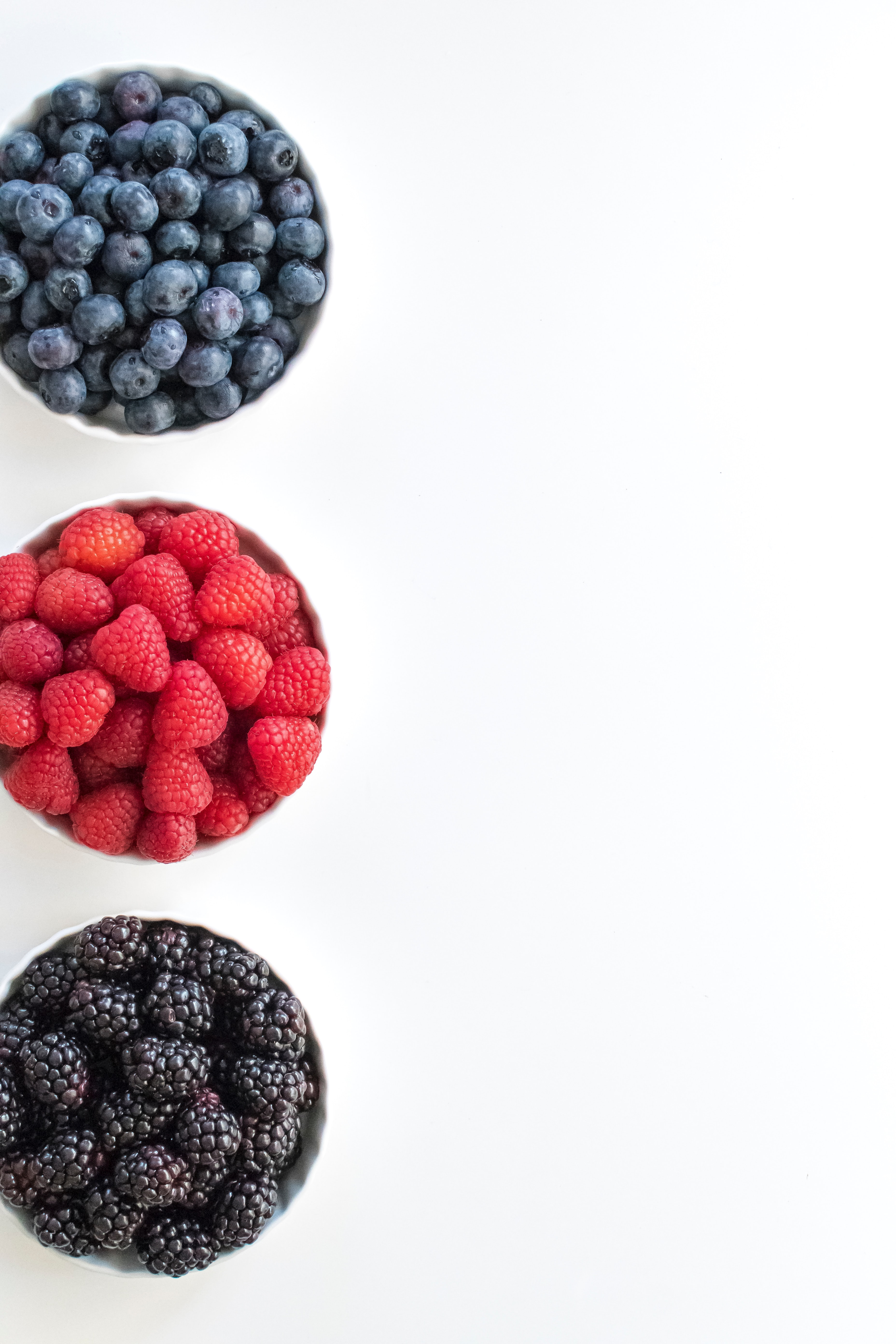 97990 download wallpaper Food, Raspberry, Bilberries, Berries, Blackberry screensavers and pictures for free