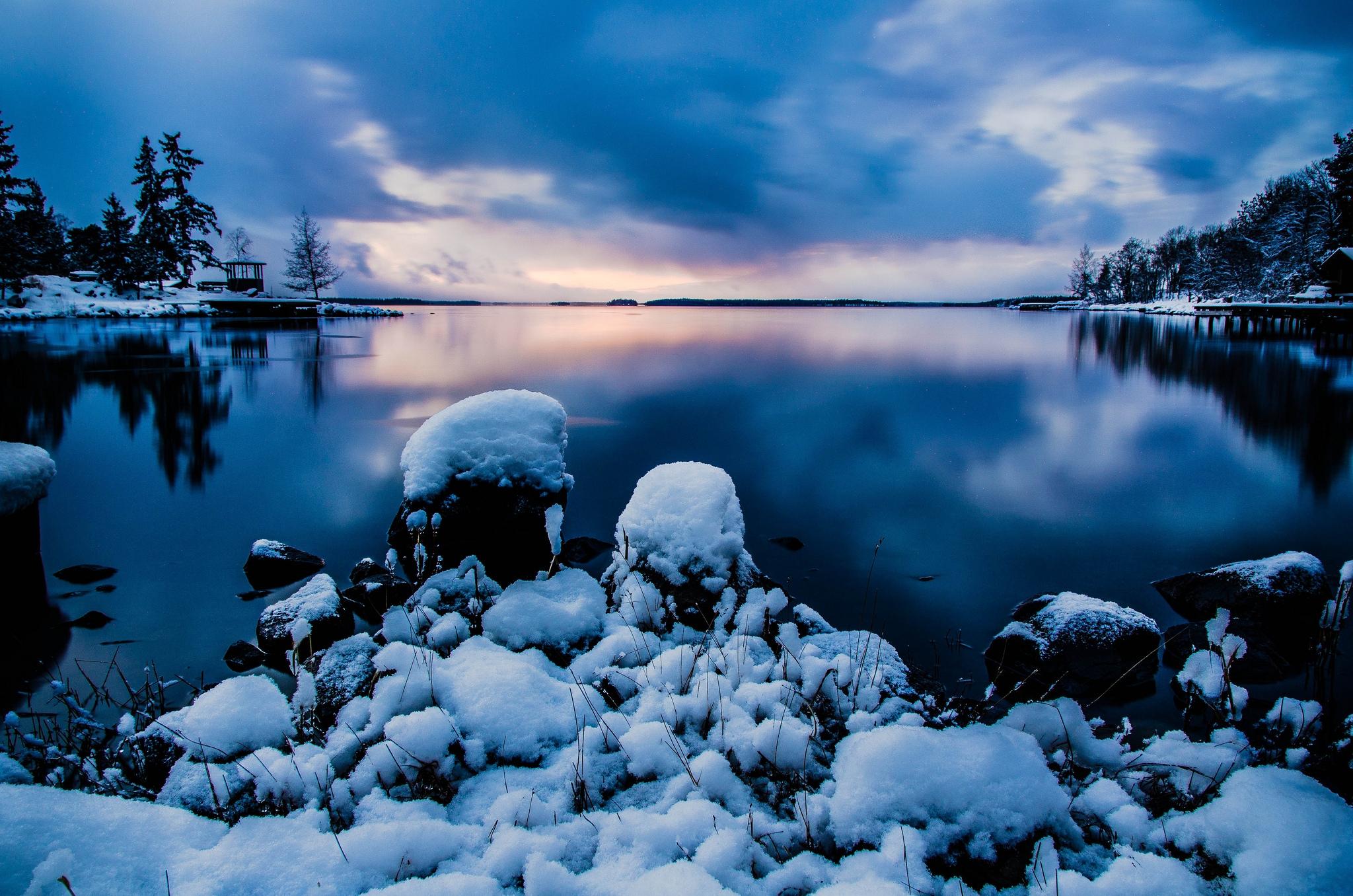 66108 fond d'écran 720x1520 sur votre téléphone gratuitement, téléchargez des images Nature, Eau, Noyaux, Sky, Soir, Stockholm 720x1520 sur votre mobile