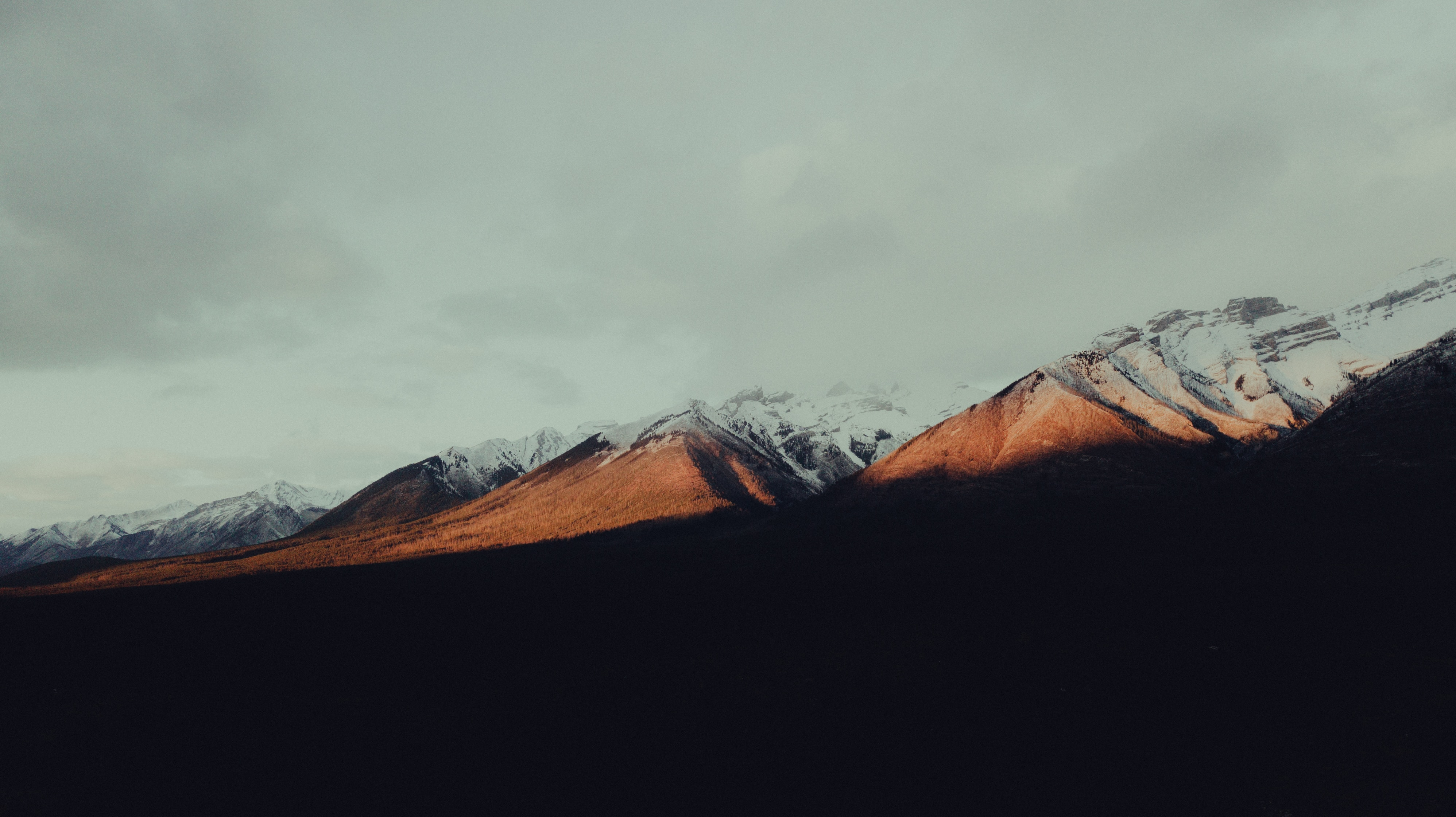 155277 download wallpaper Tops, Vertex, Snow, Shadow, Nature, Mountains screensavers and pictures for free