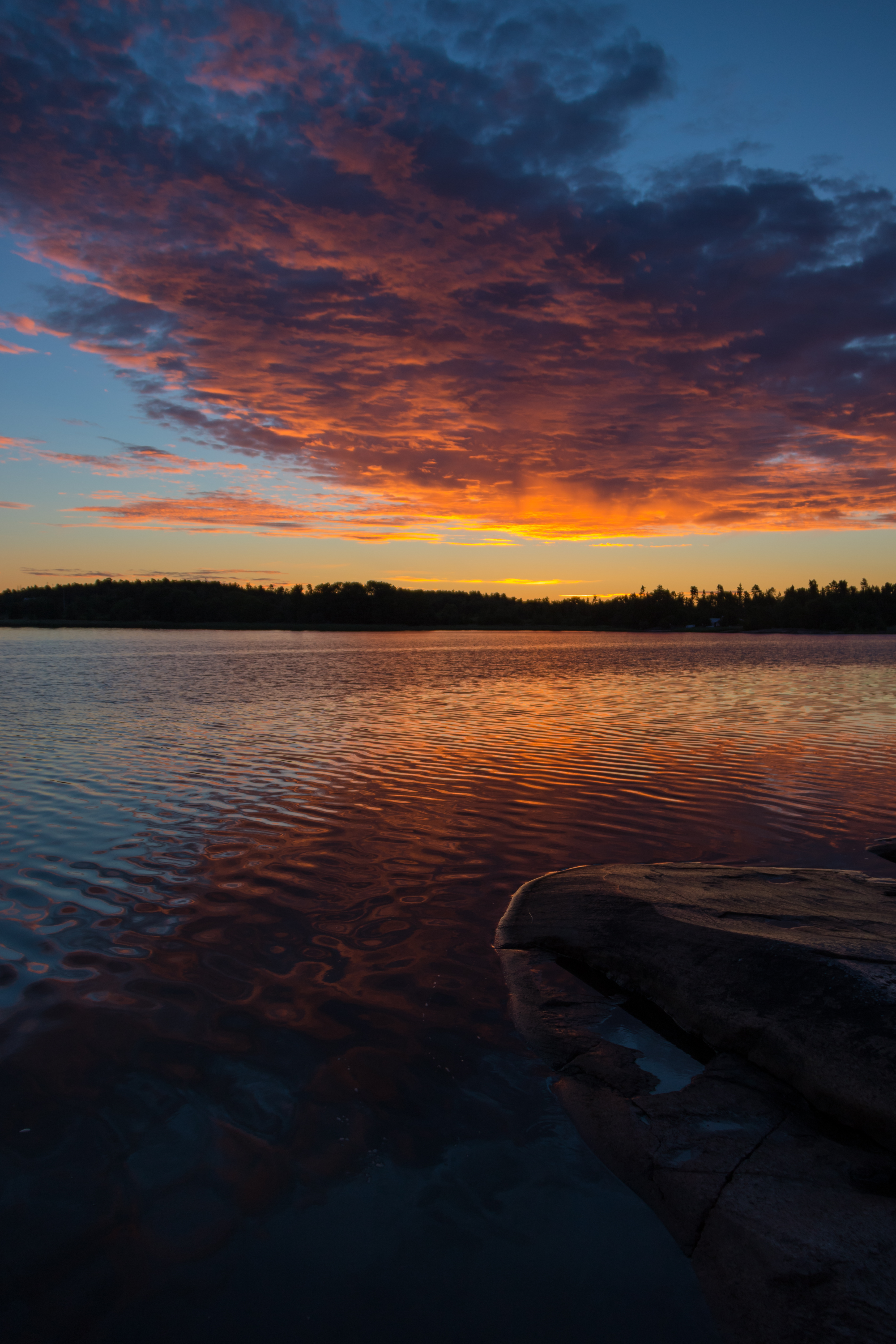 142562 Заставки и Обои Облака на телефон. Скачать Природа, Озеро, Закат, Архипелаг, Небо, Облака картинки бесплатно