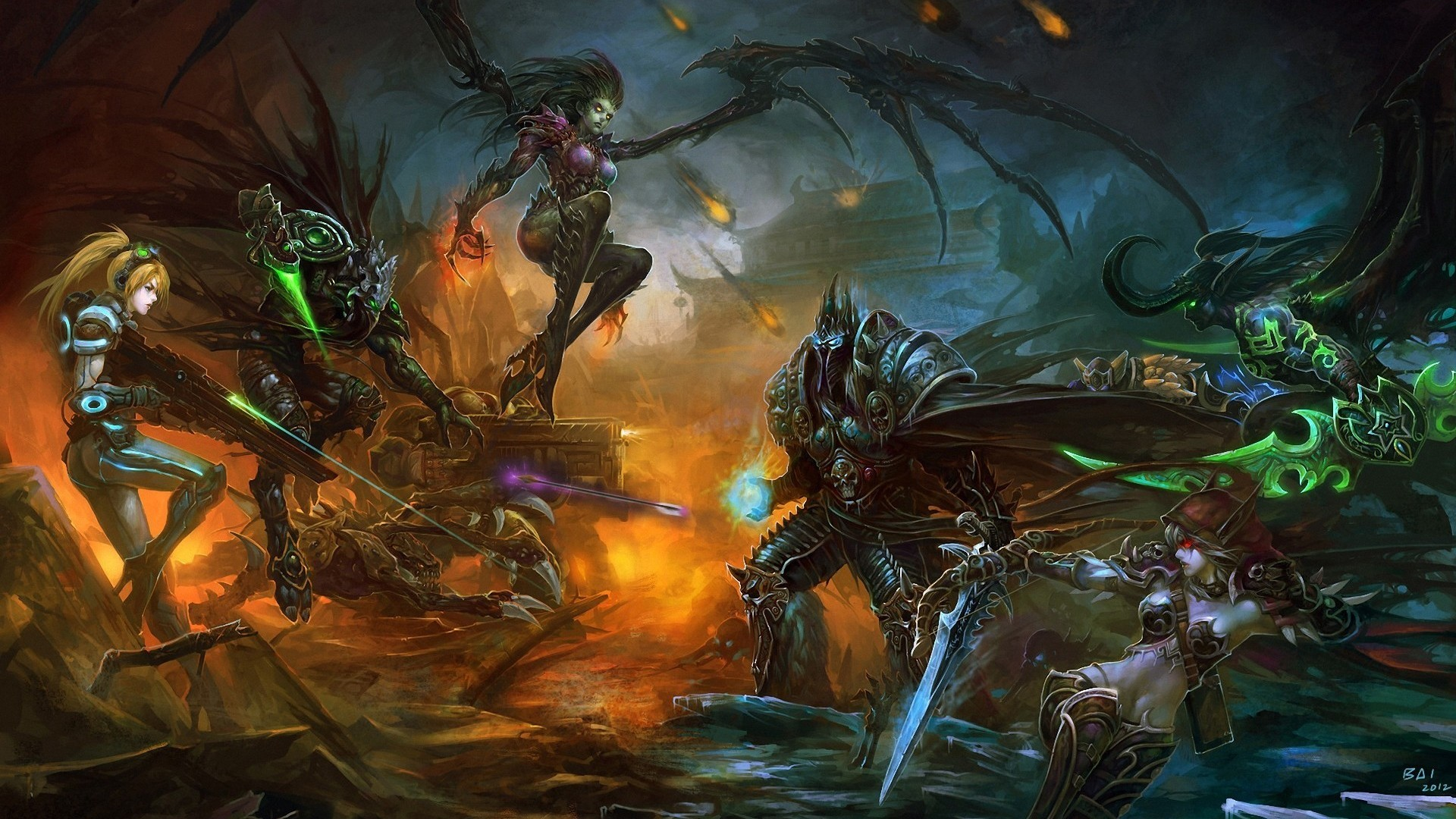 25452 скачать обои Игры, Warcraft, Старкрафт (Starcraft) - заставки и картинки бесплатно