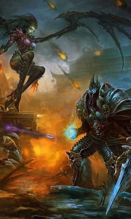 25452 download wallpaper Games, Warcraft, Starcraft screensavers and pictures for free