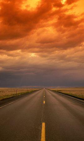 16082 télécharger le fond d'écran Paysage, Sky, Routes - économiseurs d'écran et images gratuitement