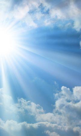 20637 скачать обои Пейзаж, Небо, Солнце, Облака - заставки и картинки бесплатно