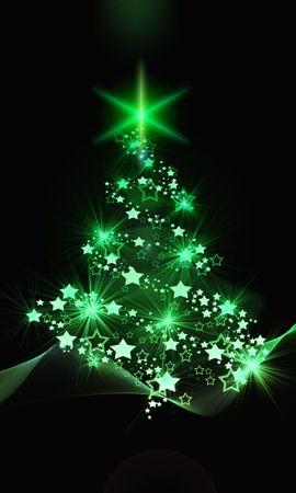 104464 télécharger le fond d'écran Fêtes, Sapin De Noël, Arbre De Noël, Noël, Nouvel An, Art - économiseurs d'écran et images gratuitement