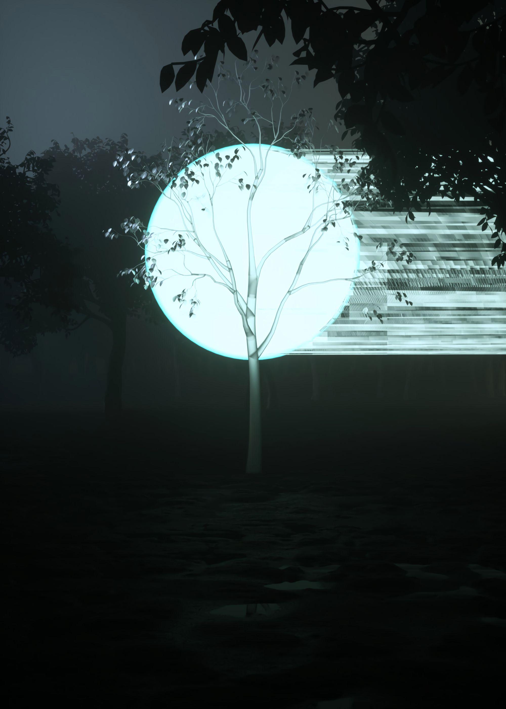 免費下載 64621: 艺术, 黑暗, 木头, 球, 辉光, 发光 桌面壁紙