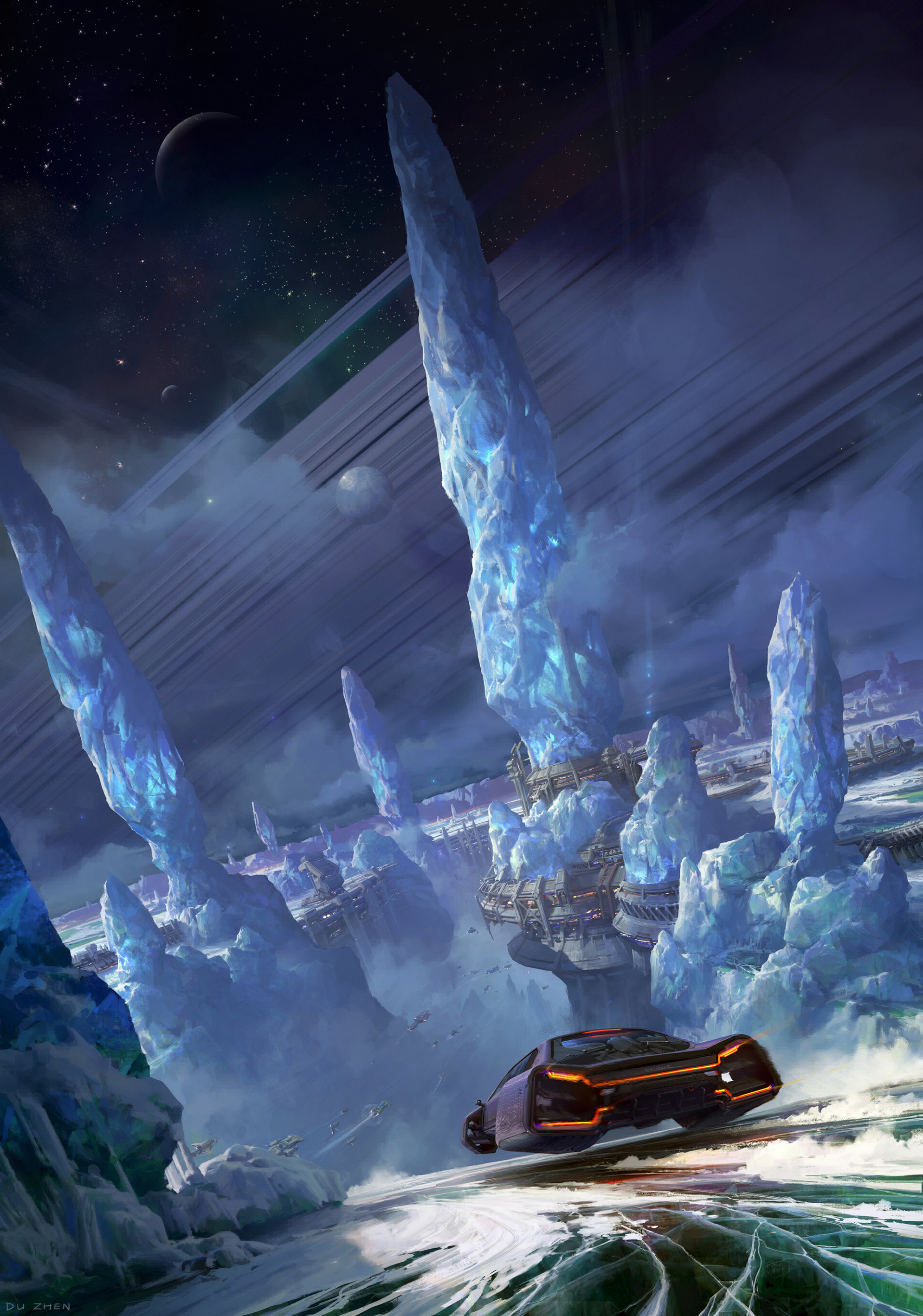 Best Sci-Fi wallpapers for phone screen