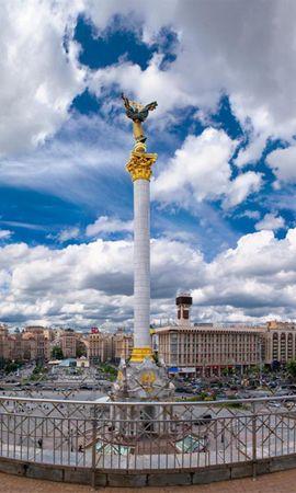 12402 скачать обои Пейзаж, Города, Небо, Архитектура, Памятники, Киев (Kyiv) - заставки и картинки бесплатно
