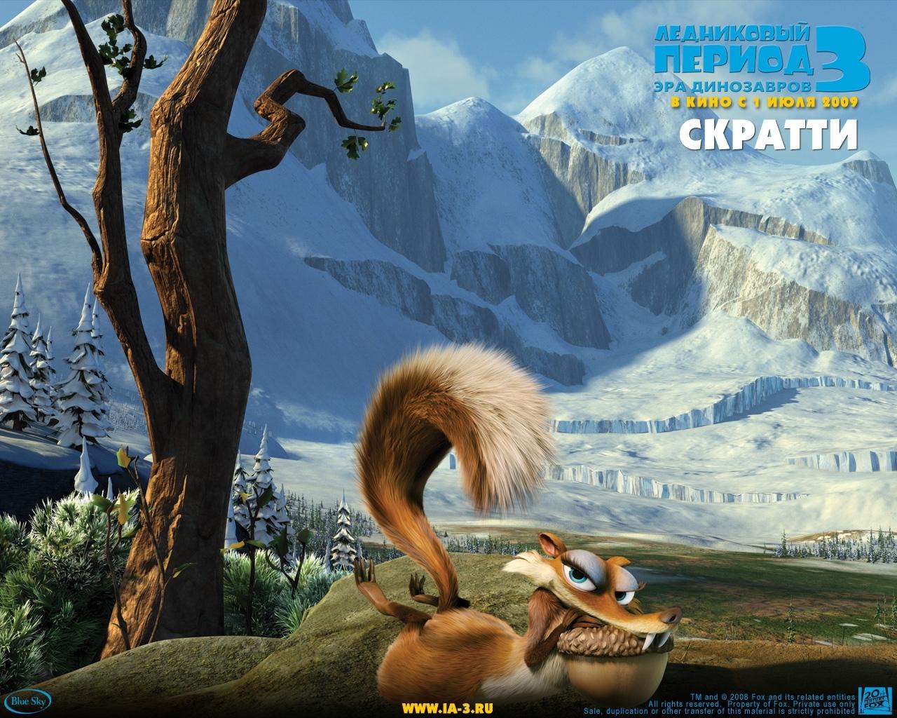 255 Hintergrundbild herunterladen Cartoon, Eiszeit, Scratte - Bildschirmschoner und Bilder kostenlos