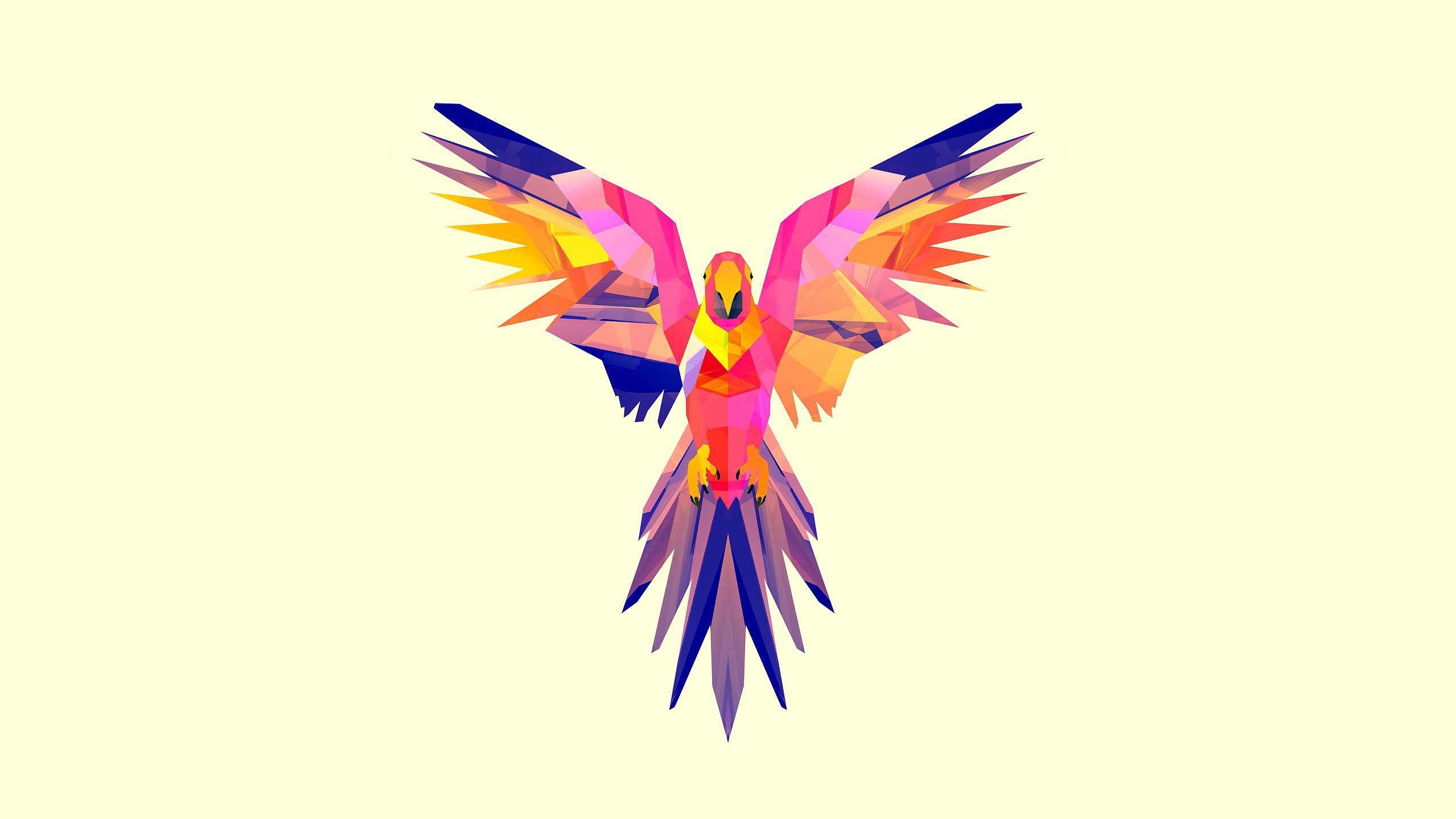 85484 download wallpaper Parrots, Vector, Bright, Picture, Drawing, Color screensavers and pictures for free
