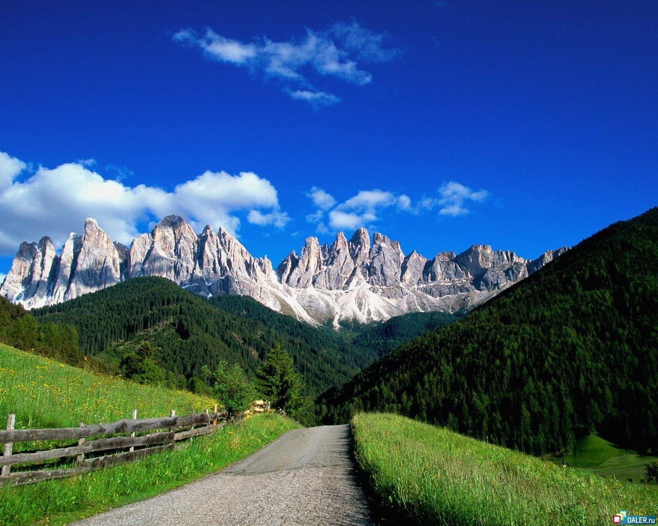 13467 скачать обои Пейзаж, Дороги, Горы - заставки и картинки бесплатно