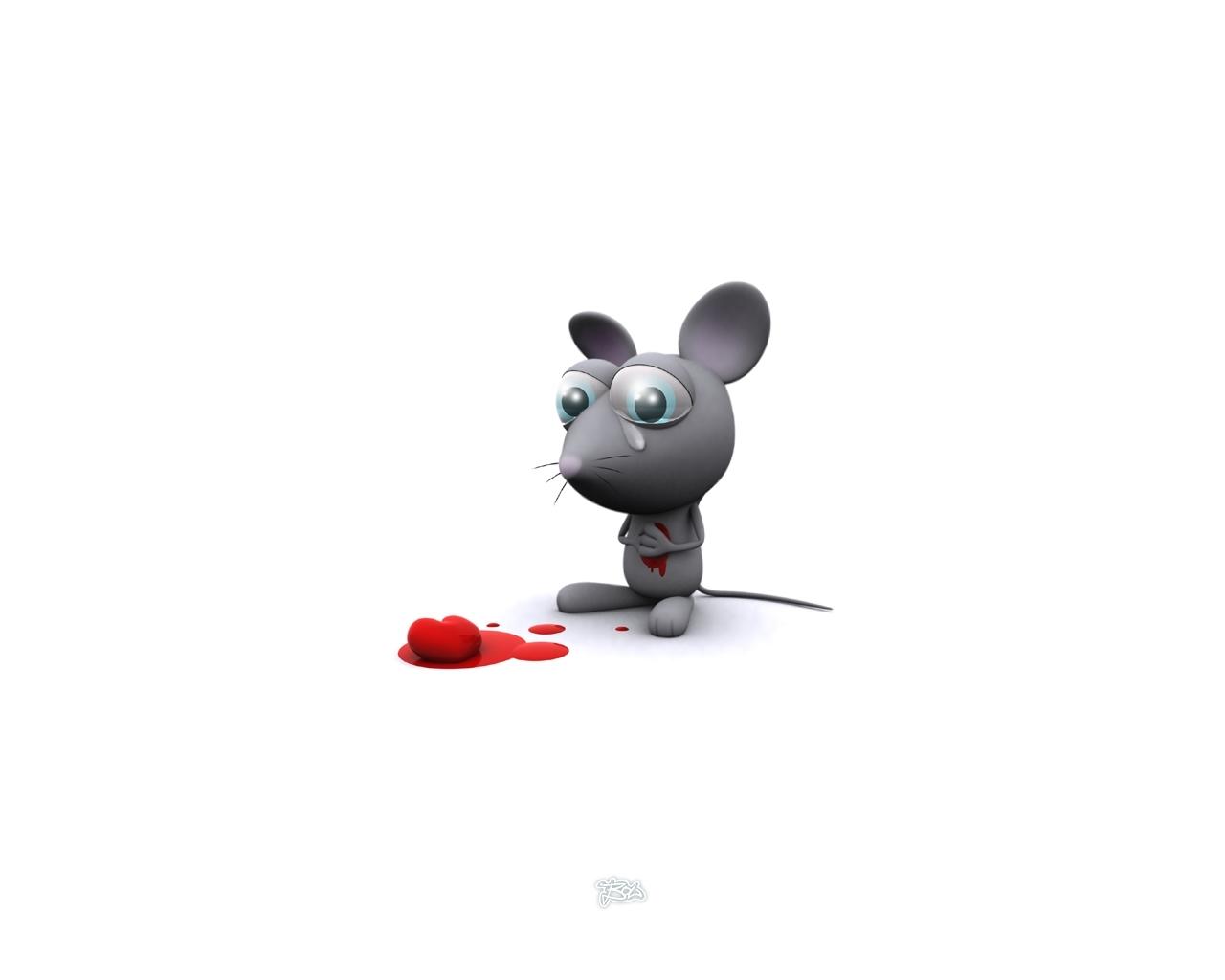 2763 descargar fondo de pantalla Ratones, Amor, Imágenes: protectores de pantalla e imágenes gratis