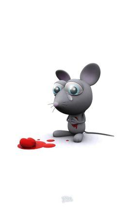2763 baixar papel de parede Ratos, Amor, Imagens - protetores de tela e imagens gratuitamente